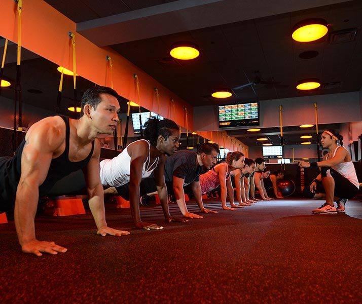 Orange Theory Fitcamp Workout