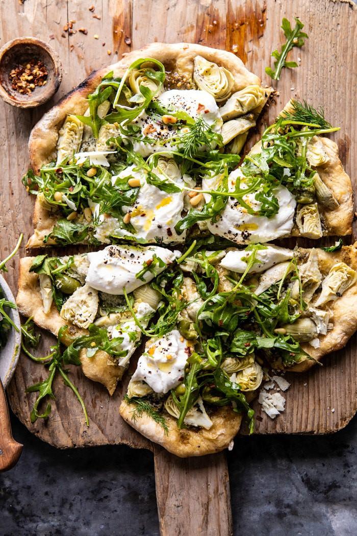 artichoke-pesto-and-burrata-pizza-with-lemony-arugula-1-700x1050